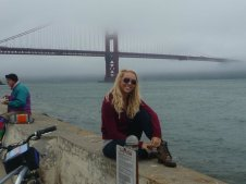 Bike riding in San Francisco